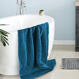 luxury bath towel for master bathroom