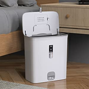 bedroom trash can