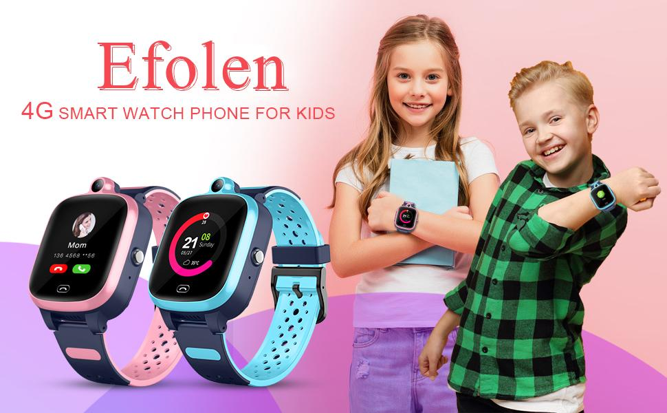 4G smart watch with gps tracker