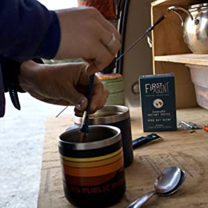 Quick and easy handcrafted instant coffee