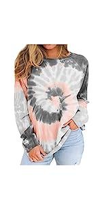 Tie Dye Sweatshirts for Women
