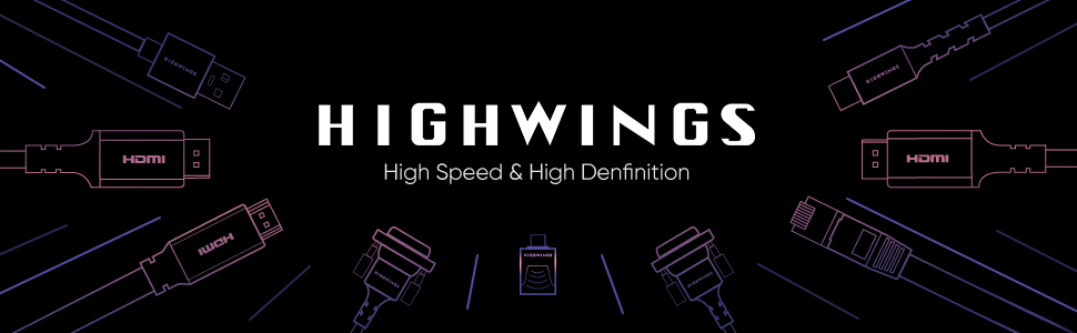 Highwings HDMI to DVI cable