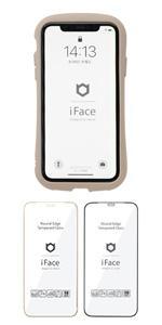 iFace iPhone 12/12 Pro 専用 ガラスフィルム ラウンドエッジ 画面保護シート
