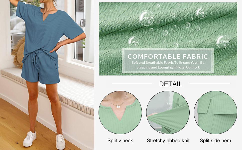 loungewear short sets women 2 piece outfits summer matching sets women clothing