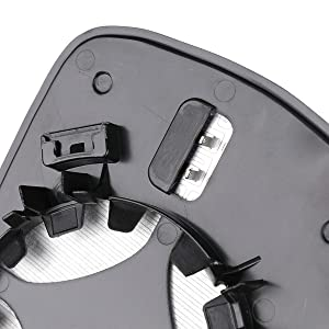 Fusion mirror galss with back plate