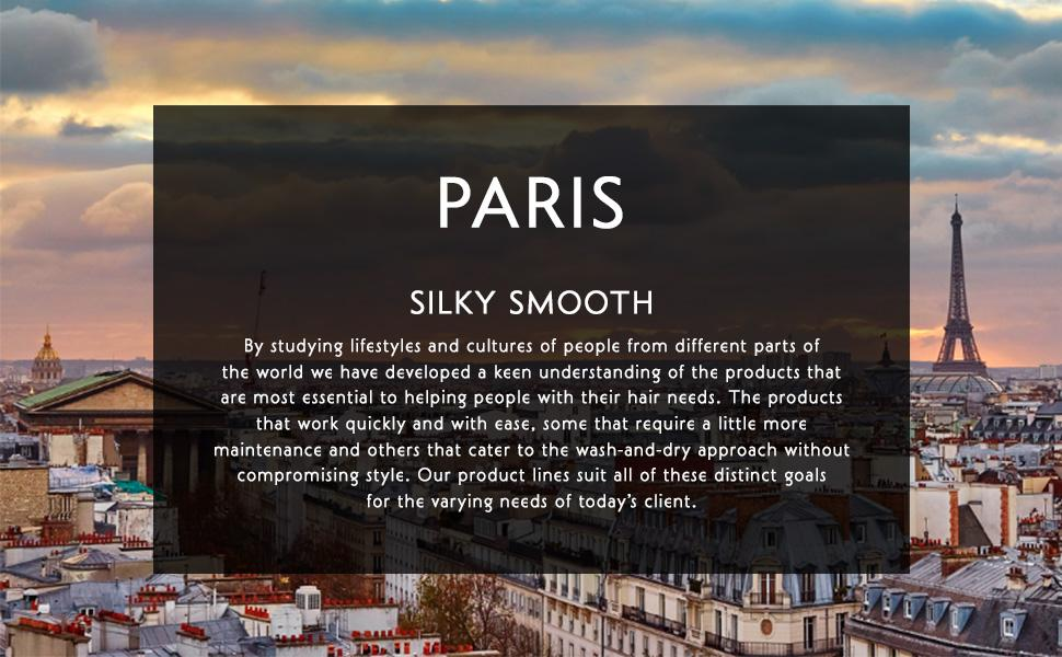 The Runway Looks Paris Silky Smooth Hair Care products