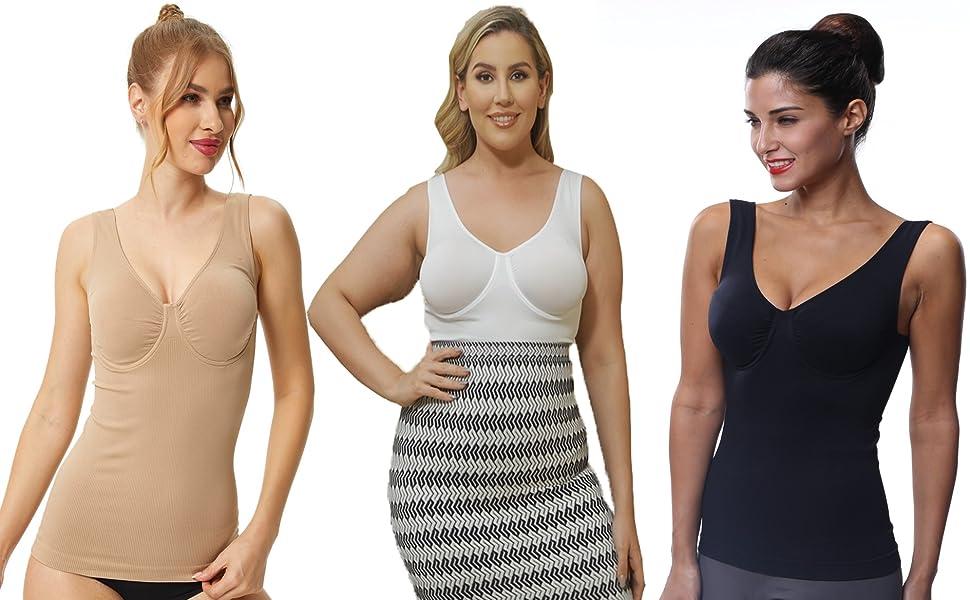 Womens Sleeveless Tank Tops