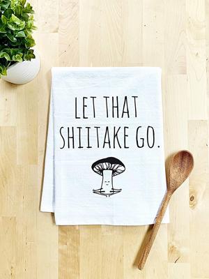 Veggie Lover Funny Dish Towel,  Flour Sack Kitchen Towel,