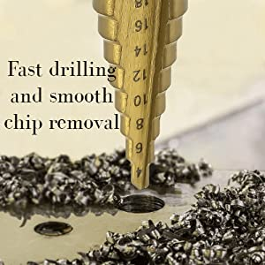 High Speed Steel Drill Cone Bits