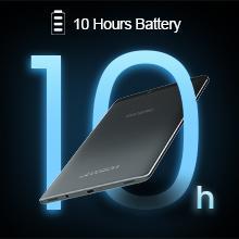 10 Hours Battery - Long lasting