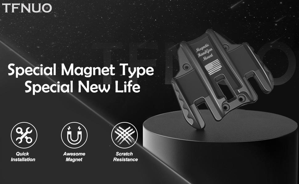 New Type Gun Magnet