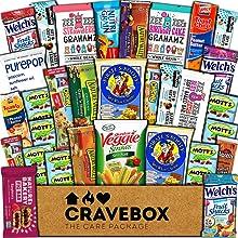 Healthy CraveBox Care Package fruit snacks nutrition granola bars box pack bundle fitness diet
