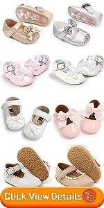 baby girl princess dress Mary Jane flat shoes