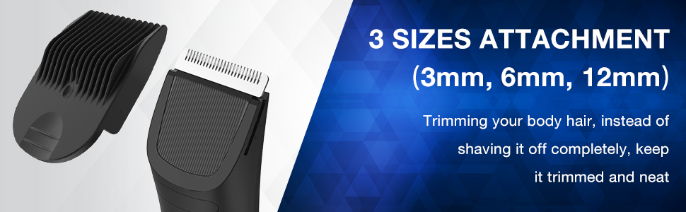 Electric Body Shaver for Men