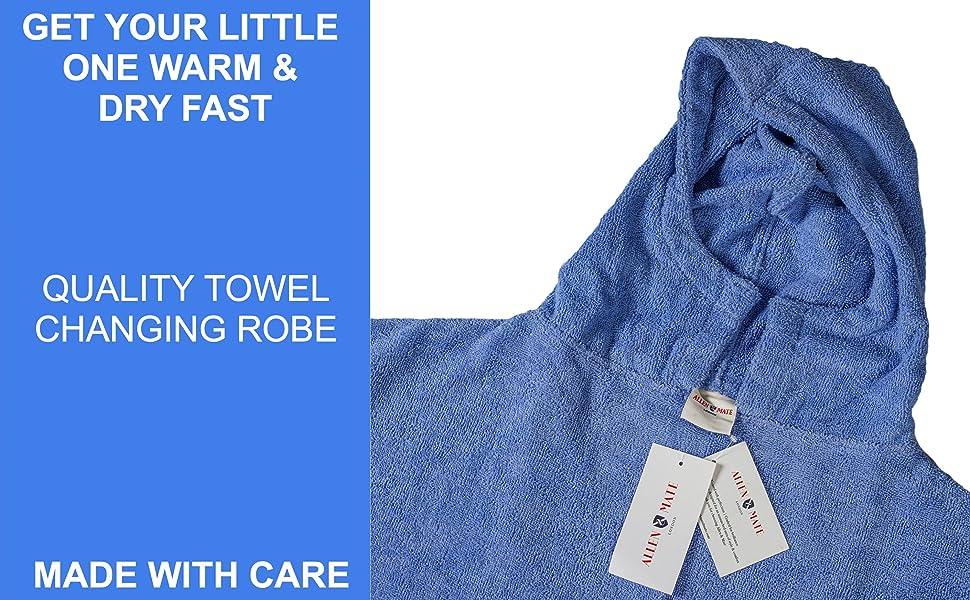 kids towel poncho