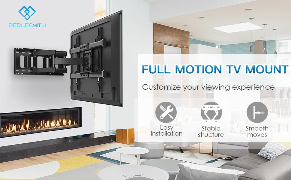 full motion tv wall mount PSLF7