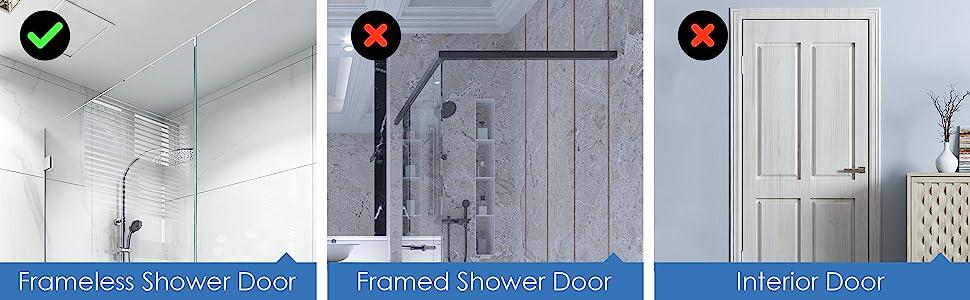 for framless shower door