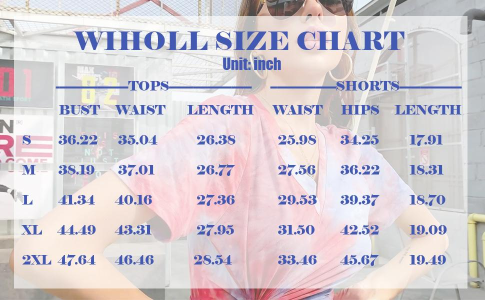 WIHOLL Size Chart