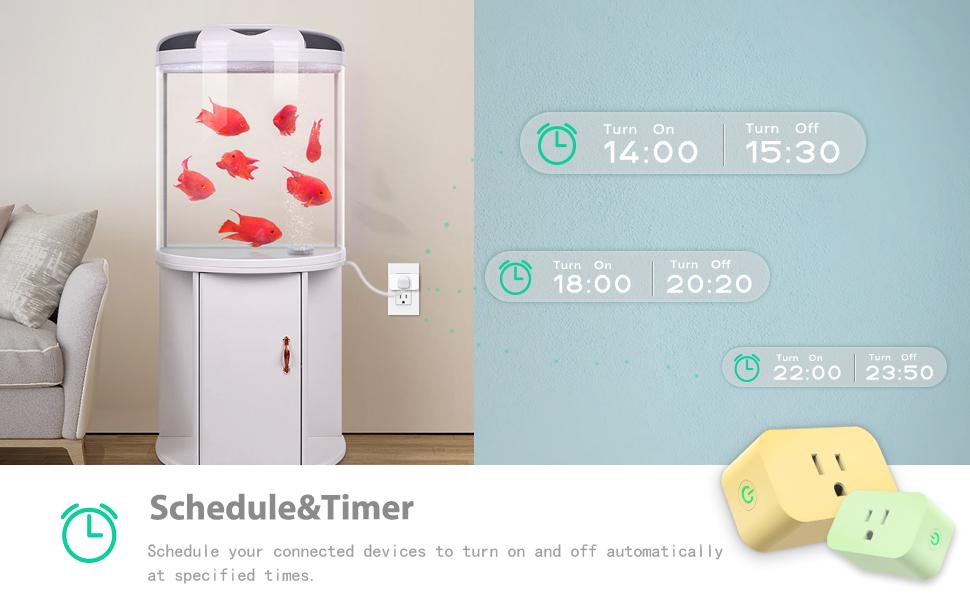 Cibou smart plug work with aquarium