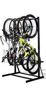 Freestanding Bike Stand Hanging Vertical Bicycle