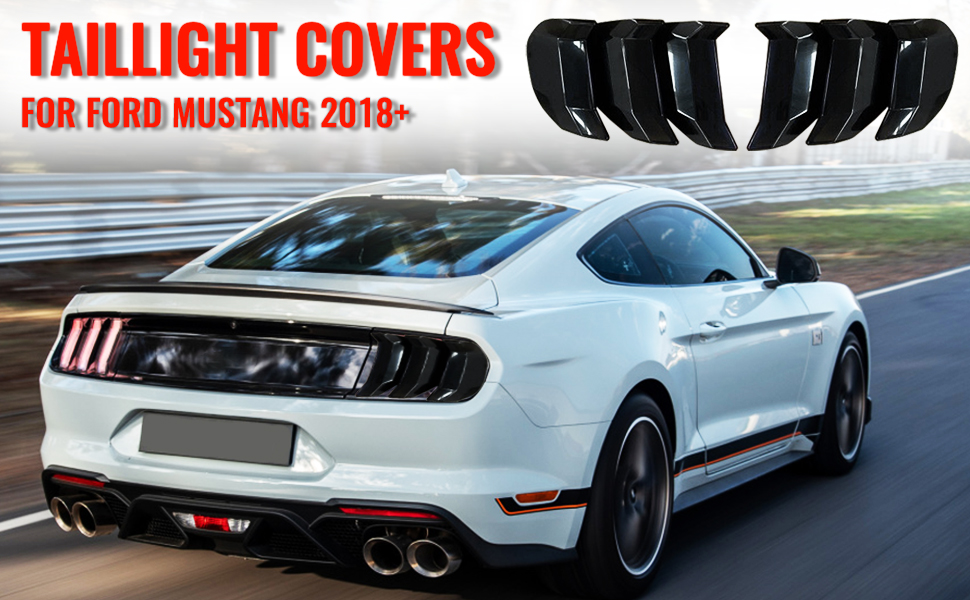 RT-TCZ Mustang Tail Light Cover