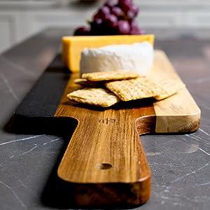 Artsy Photo of Cheeseboard Handle