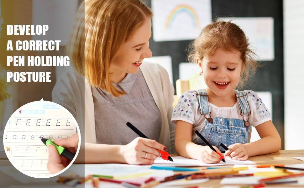 Keep children interested in practicing writing and learn English effectively.