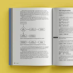 Spread of How Linux Works, 3rd Edition on a yellow background