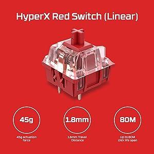 HX Red Switch