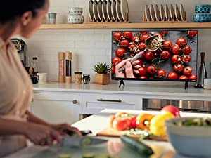 D-Series TV in a kitchen setting