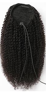ponytail human hair