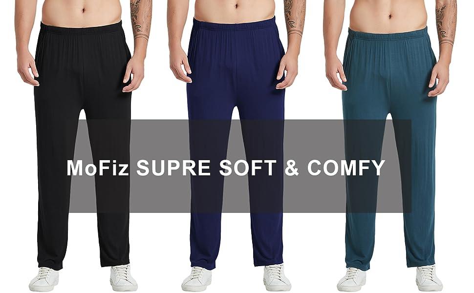MoFiz Men's Pyjamas Bottoms Trousers