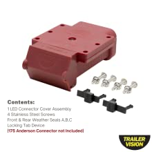 175 Amp Anderson Connector Cover housing kit for trailer 4wd 175 ampere