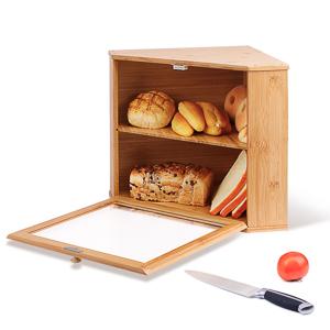 Corner Bread Box - Large Capacity