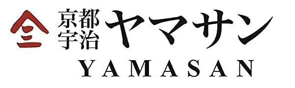 Yamasan logo Japanese green tea matcha food Kyoto Uji