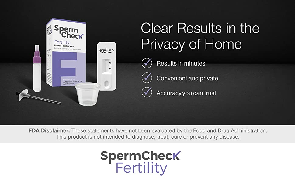 Clear results in the privacy of home results in minutes convenient and private accurate