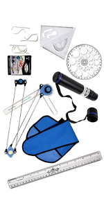 Mini Drafter Combo ofor Engineering Drawing for Students, Architect, Artist SPN-REEFf Mini Drafter