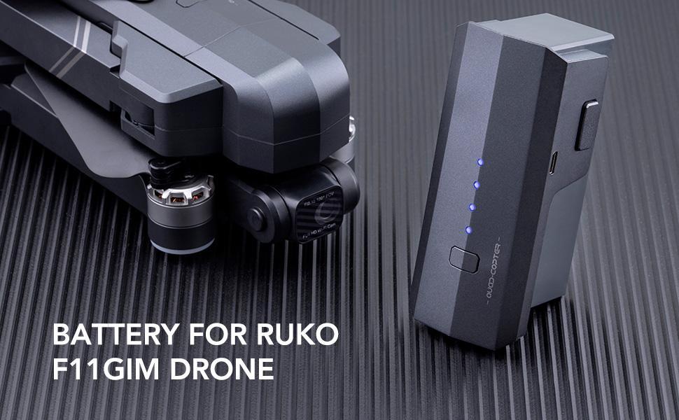 Battery for Ruko F11GIM drone