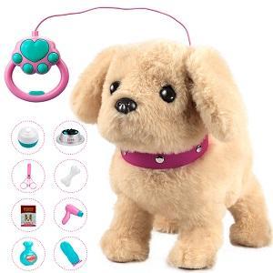 Forty4 Plush Electronic Dog