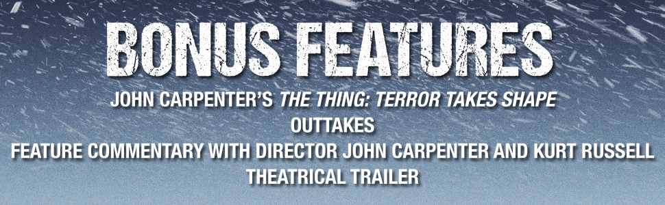 the thing 4k john carpenter commentary trailer content