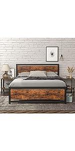 Full bed frame
