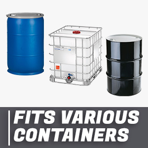 trd490n fits various containers