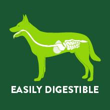 Easily digestible