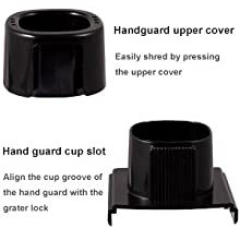 Handguard design to  protect fingers from being cut