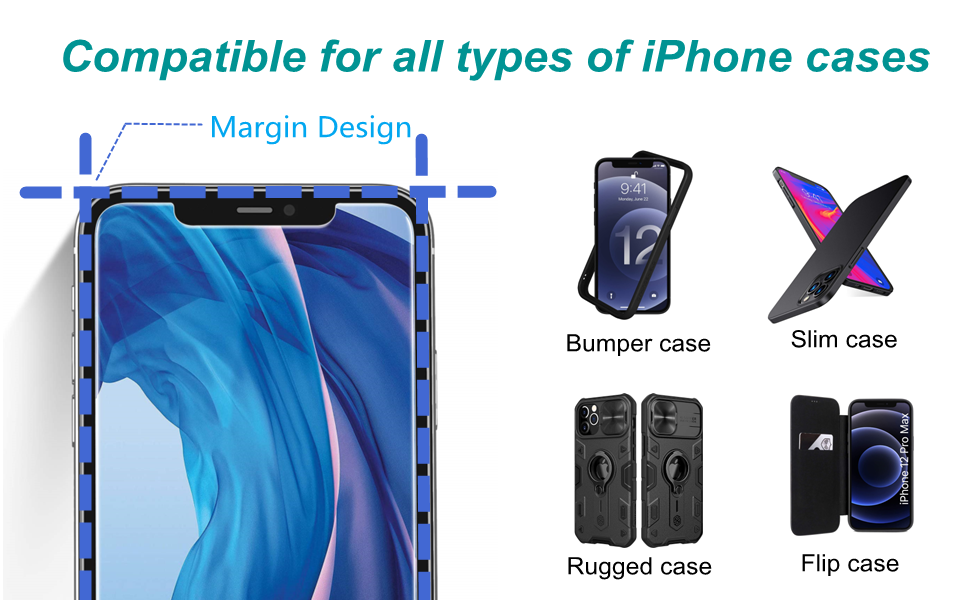 Compatible for all iPhone cases