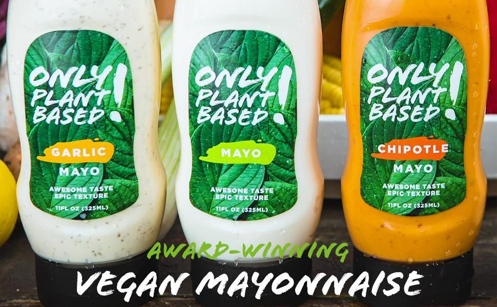 Only! Plant Based Vegan Mayonnaise