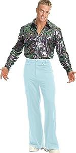 Powder Blue Disco Pants