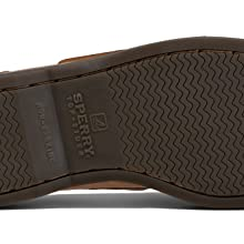 Signature non-marking rubber outsole for greater wet/dry traction.
