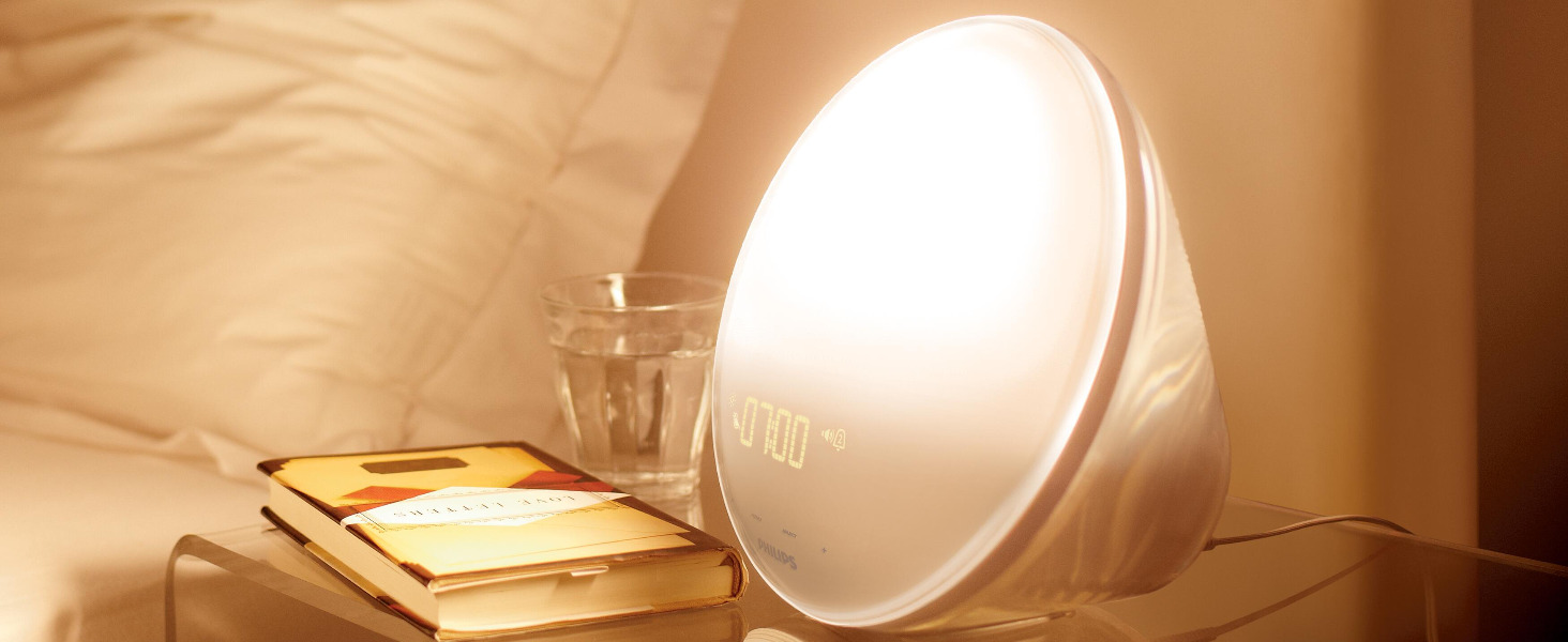 Wake up naturally with a Wake-up Light and a coloured sunrise