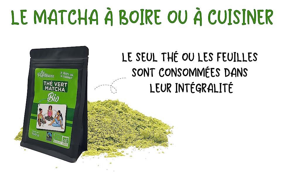 Thé vert Matcha Vrac